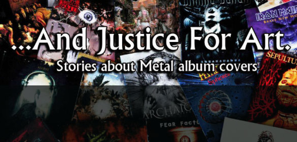 And Justice For Art: Las portadas del metal al descubierto.