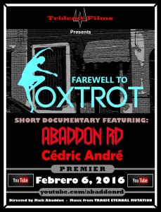 FAREWELL TO FOXTROT afiche