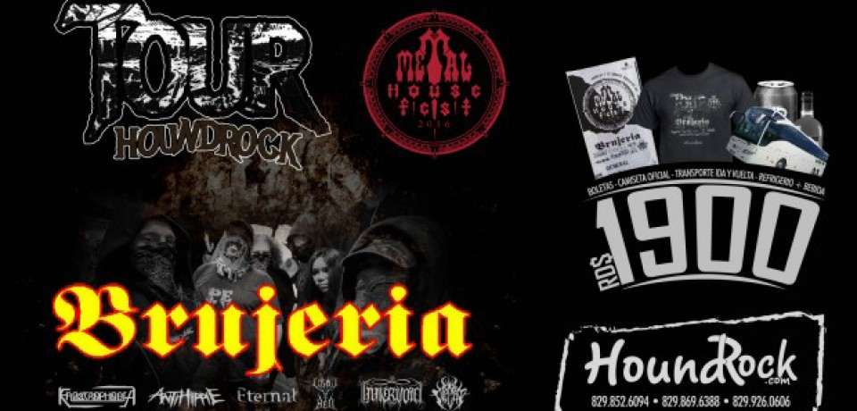 Tour Houndrock Metal House Fest 2016