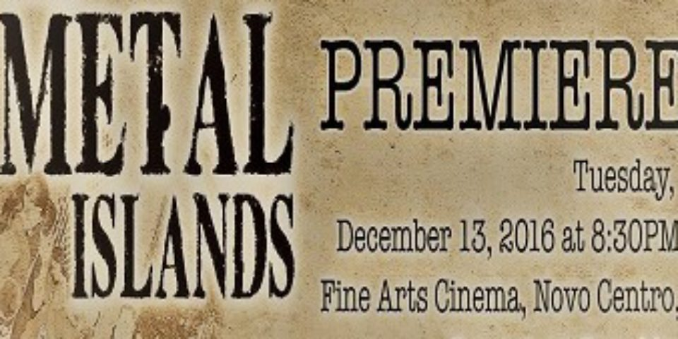 Premiere en República Dominicana documental 'The Metal Islands'